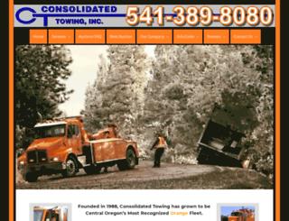 consolidatedtowing.com screenshot