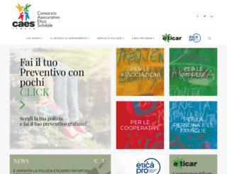 consorziocaes.org screenshot