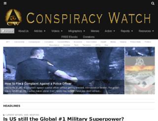 conspiracy-watch.org screenshot