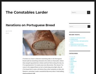 constableslarder.com screenshot