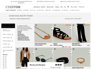 constance-boutet.lexception.com screenshot