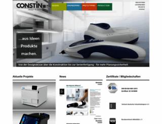 constin.de screenshot