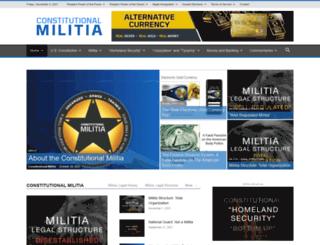 constitutionalmilitia.org screenshot