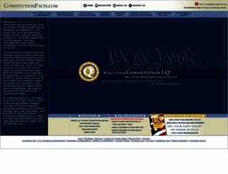 constitutionfacts.com screenshot