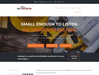 construction.com.na screenshot