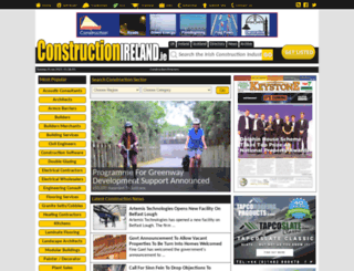 constructionireland.ie screenshot