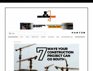 constructionjunkie.com screenshot