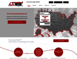 constructionnotice.com screenshot