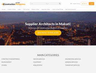 constructionphilippines.com screenshot
