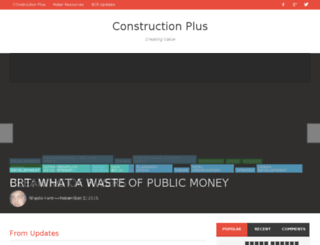 constructionplus.co.in screenshot
