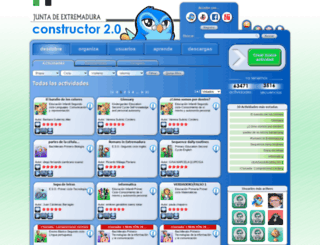 constructor.educarex.es screenshot