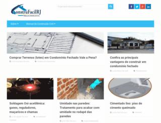construfacilrj.com.br screenshot
