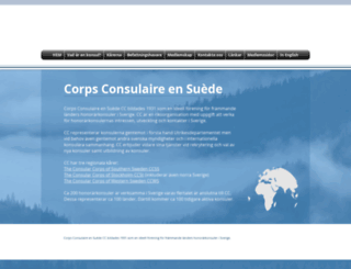 consularcorps.org screenshot