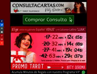 consultacartas.com screenshot