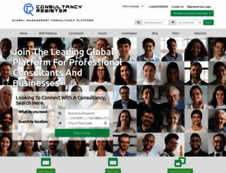 consultancyregister.com screenshot