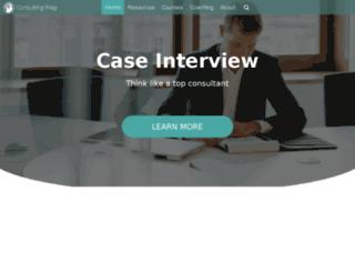 consultingprep.com screenshot