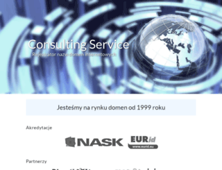 consultingservice.pl screenshot