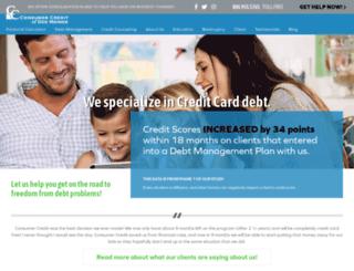 consumercreditofiowa.com screenshot