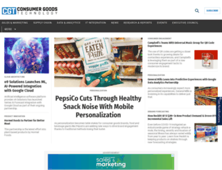 consumergoods.edgl.com screenshot