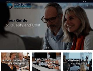 consumerhealthratings.com screenshot