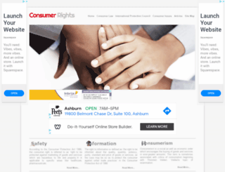 consumerrights.org.in screenshot