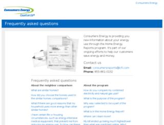consumersenergy.opower.com screenshot