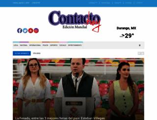 contactohoy.com.mx screenshot
