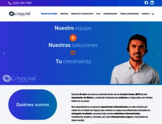 contactus.com.mx screenshot