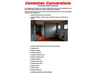 container-conversions.co.za screenshot