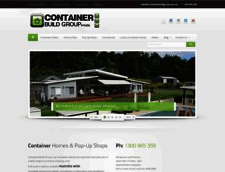 containerbuildgroup.com.au screenshot