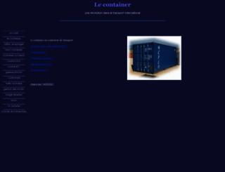 containerinfo.net screenshot
