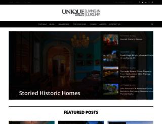 content.uniquehomes.com screenshot