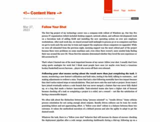 contenthere.net screenshot