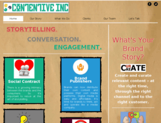 contentiveinc.com screenshot
