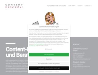 contentmanufaktur.net screenshot
