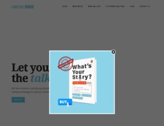 contentpixies.com screenshot