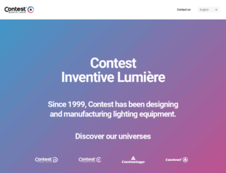 contest-lighting.com screenshot
