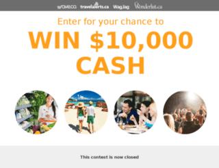 contest.wagjag.com screenshot