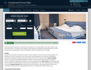 continental-forum-sibiu.h-rez.com screenshot