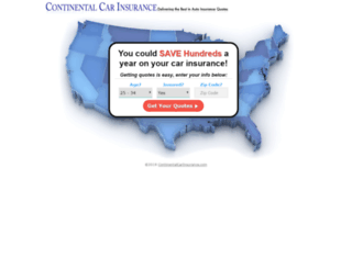 continentalcarinsure.com screenshot