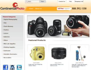 continentalphoto.com screenshot
