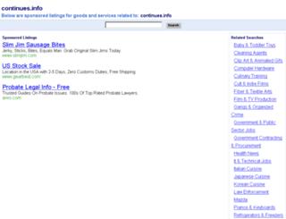 continues.info screenshot