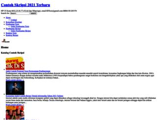 contohskripsi.idtesis.com screenshot