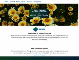 contracosta.watersavingplants.com screenshot