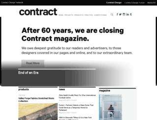 contractmagazine.com screenshot