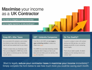contractor-tax-solutions.com screenshot