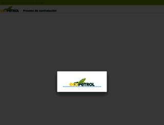 contratos.ecopetrol.com.co screenshot