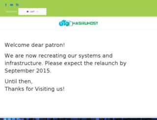 control.hasiruhost.com screenshot