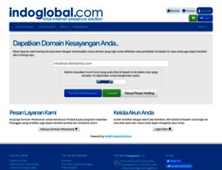 control.indoglobal.com screenshot