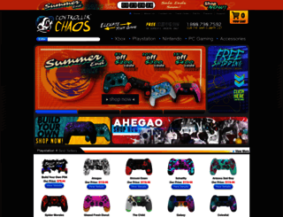controllerchaos.com screenshot
